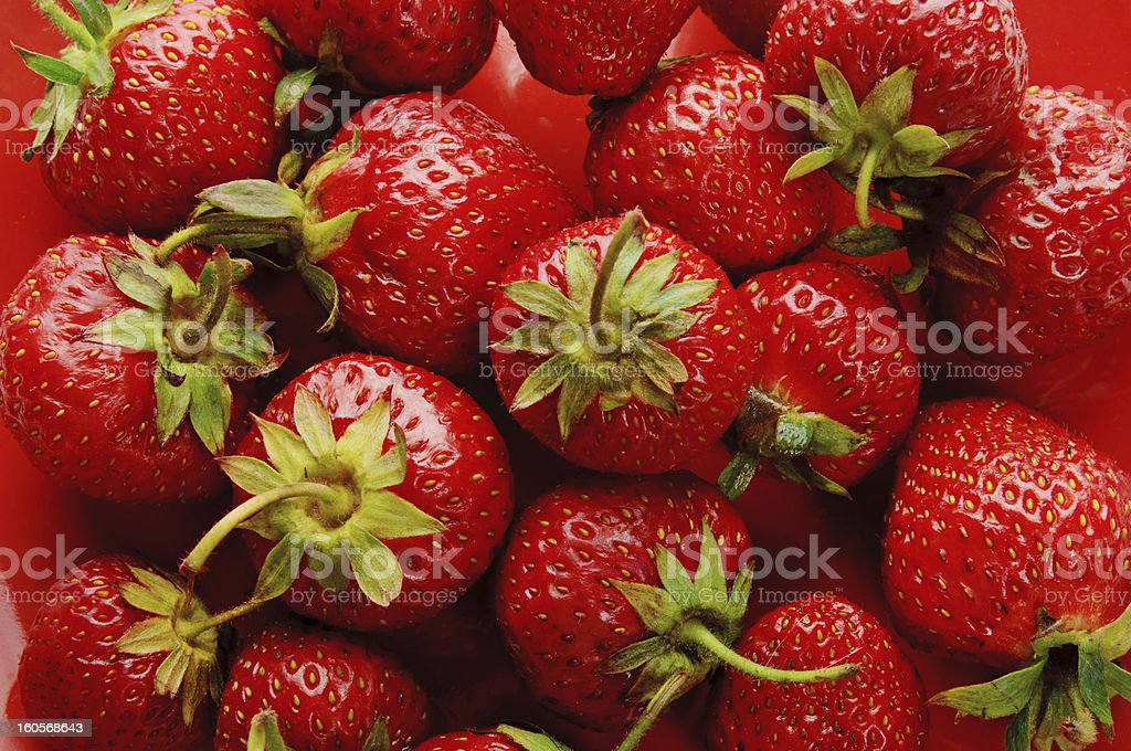 Strawberry background royalty-free stock photo