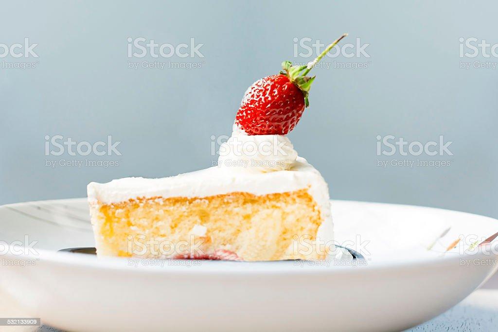 Strawberry Cake royalty-free stock photo