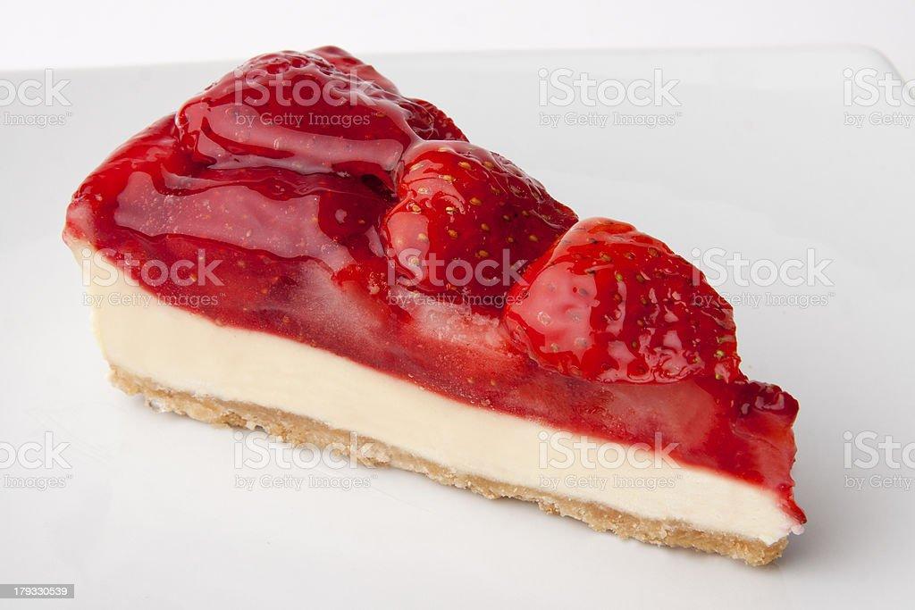 Strawberry Cheesecake stock photo