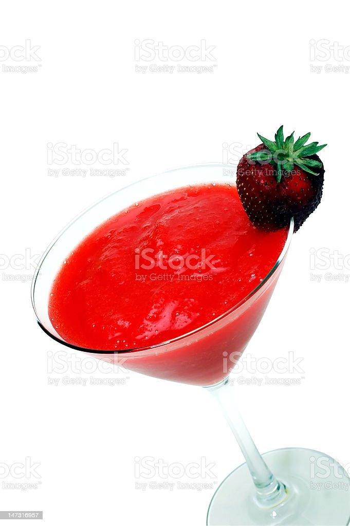 Strawberry Daiquiri Isolated stock photo