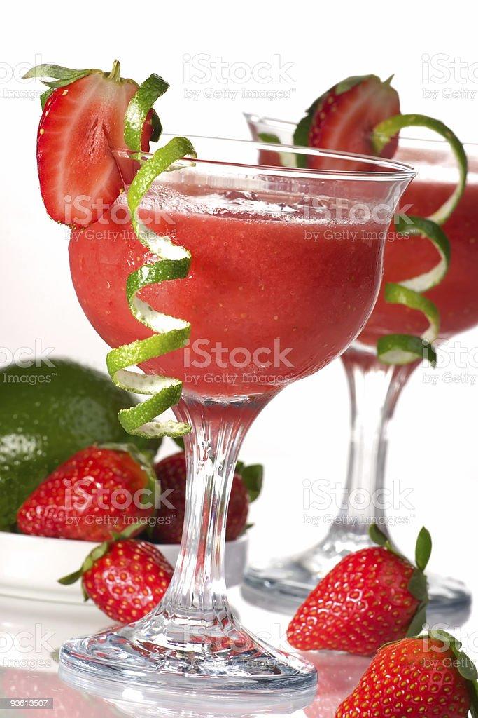 Strawberry Daiquiri - Most popular cocktails series stock photo