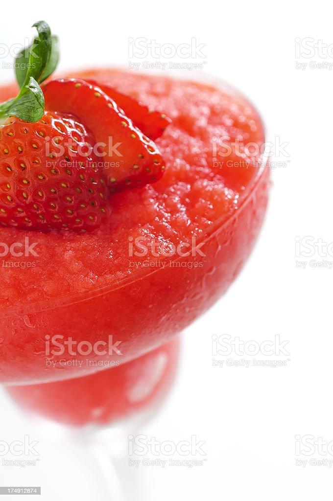 Strawberry Daiquiri royalty-free stock photo