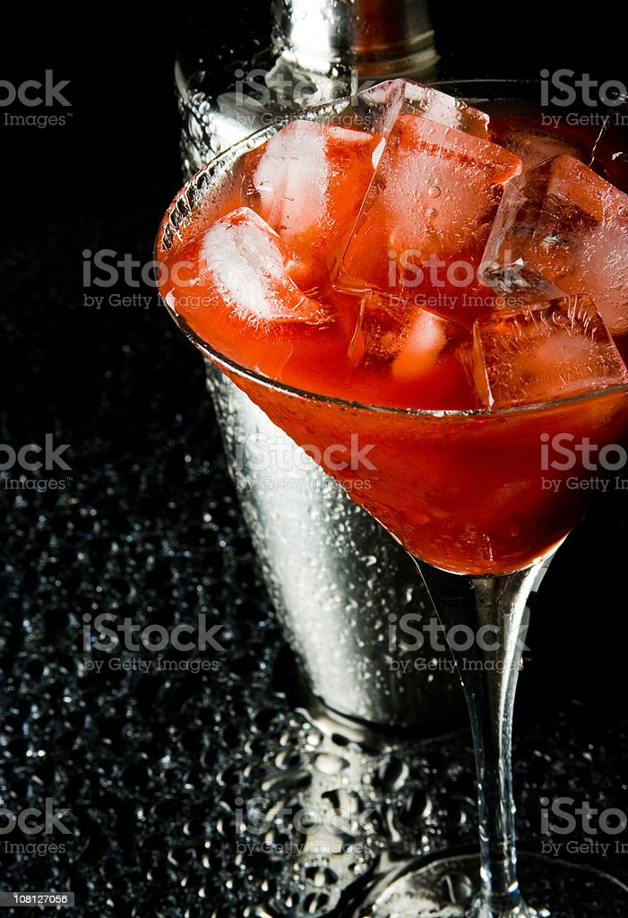 Strawberry drink royalty-free stock photo