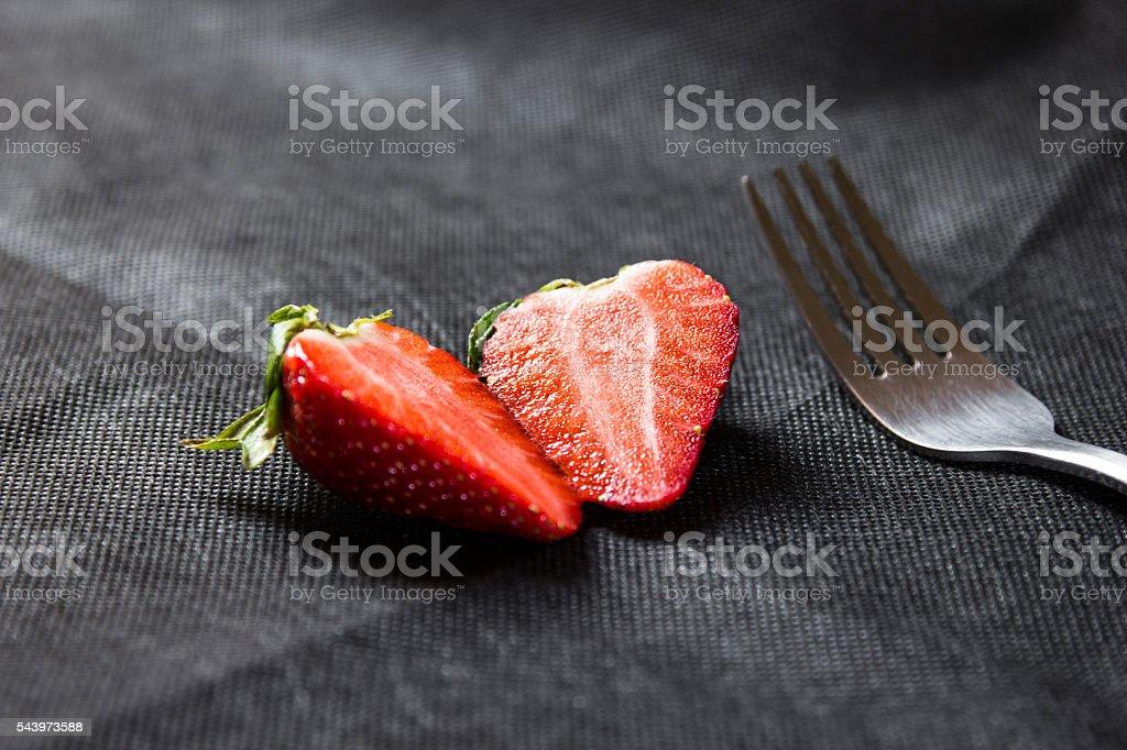 Strawberry. Fresh strawberry. royalty-free stock photo