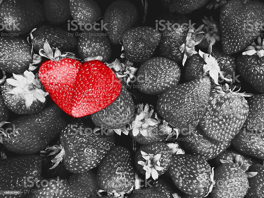 Strawberry Love royalty-free stock photo