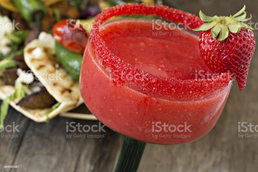 Strawberry Margarita stock photo