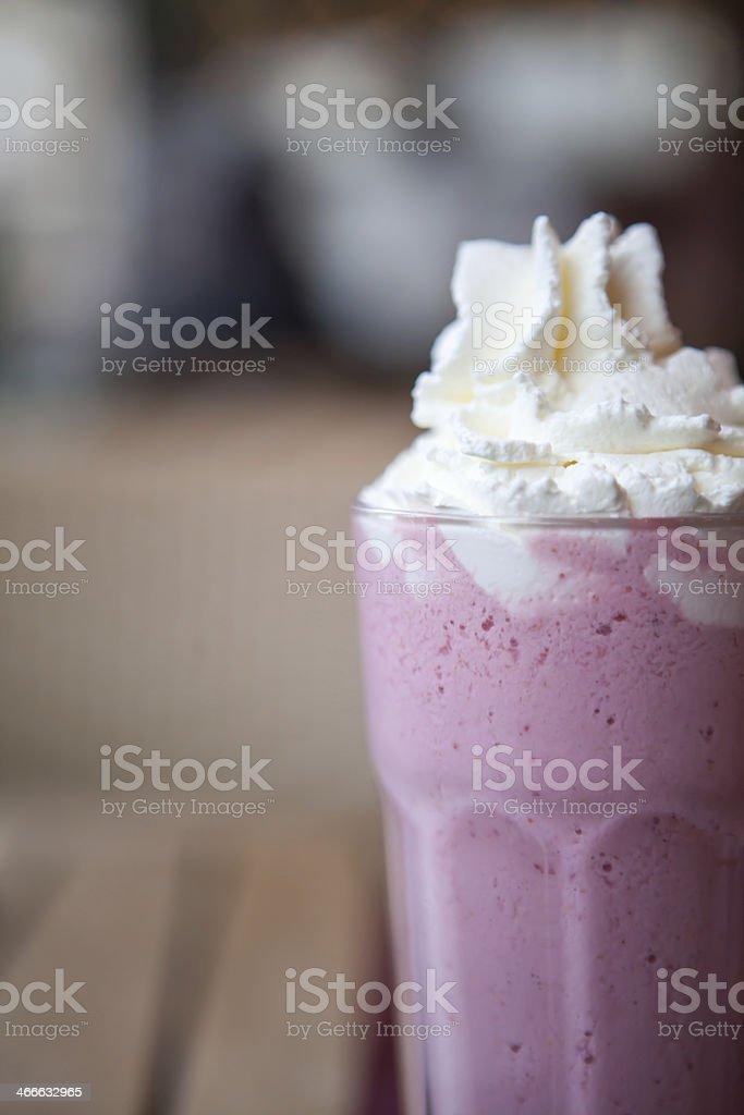 Strawberry Milkshake stock photo