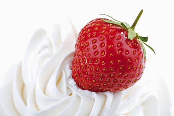 Whipped Cream and Strawberries - Top 5 Healthy Desserts