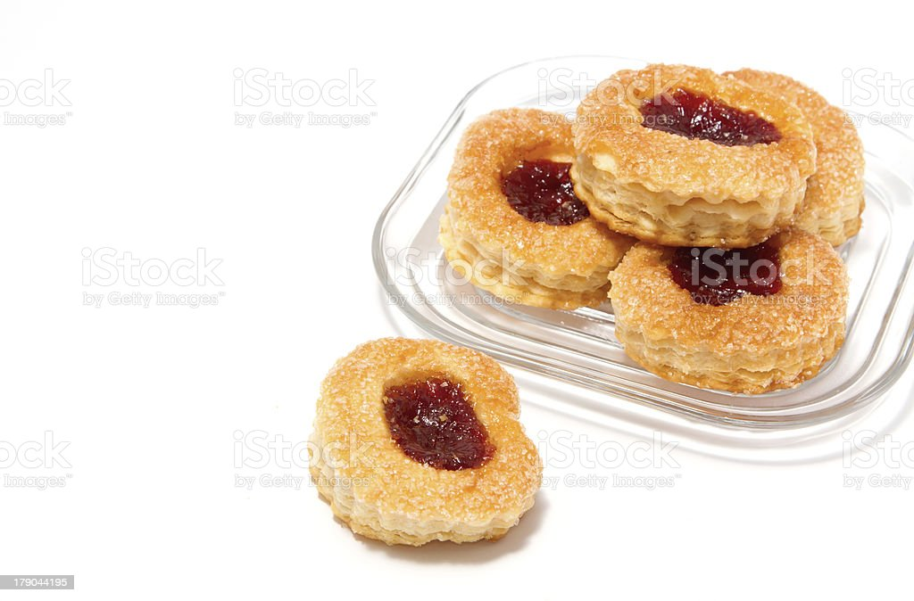 strawberry pastry royalty-free stock photo