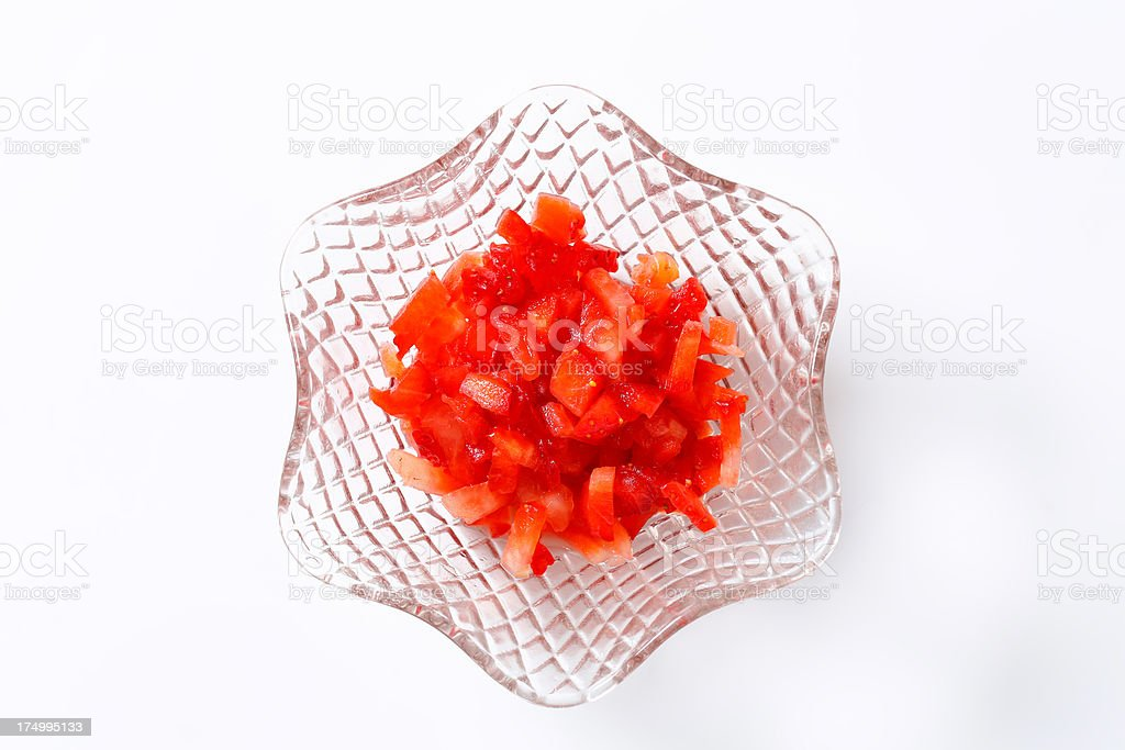strawberry pieces royalty-free stock photo