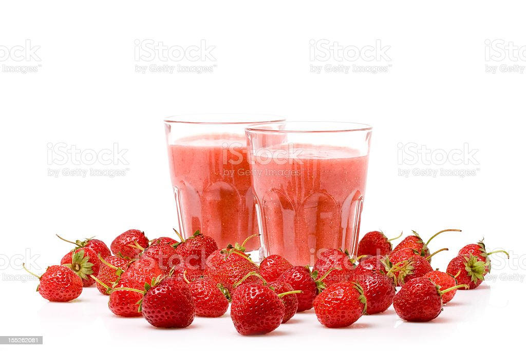 Strawberry Smoothie royalty-free stock photo