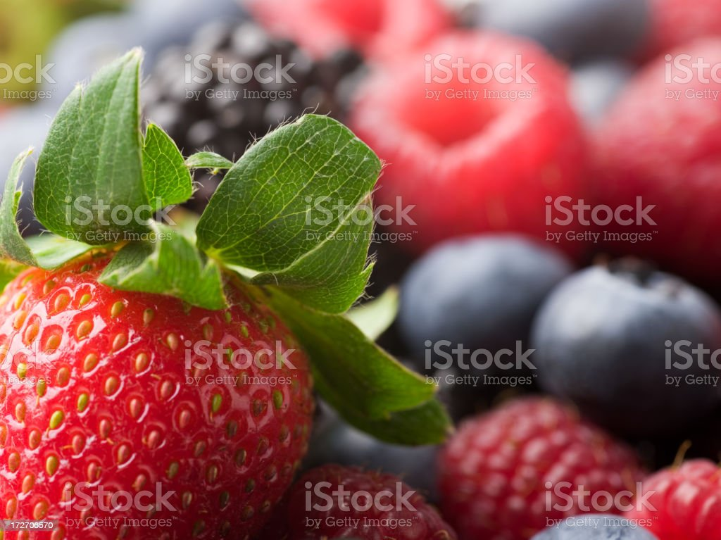 strawberry still life royalty-free stock photo