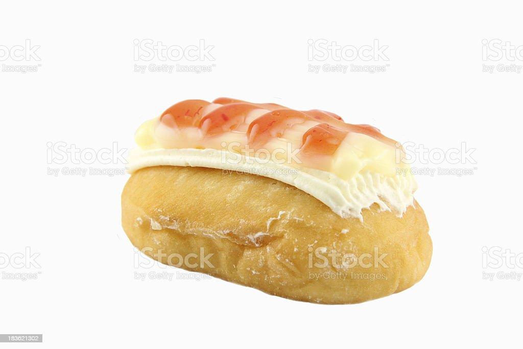 Strawberry Sushi Donuts. royalty-free stock photo