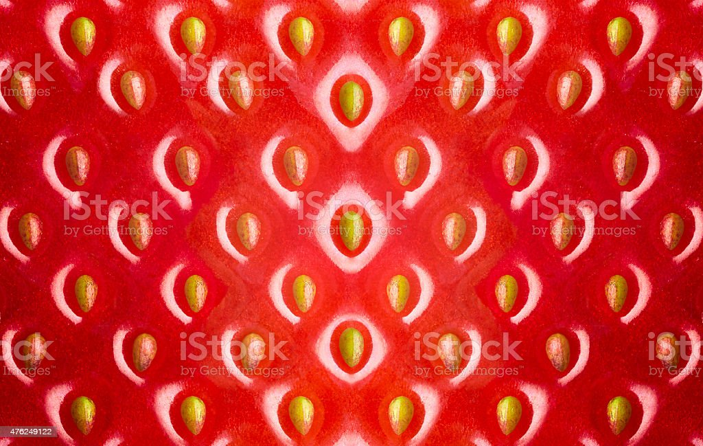 Strawberry texture, abstract background stock photo