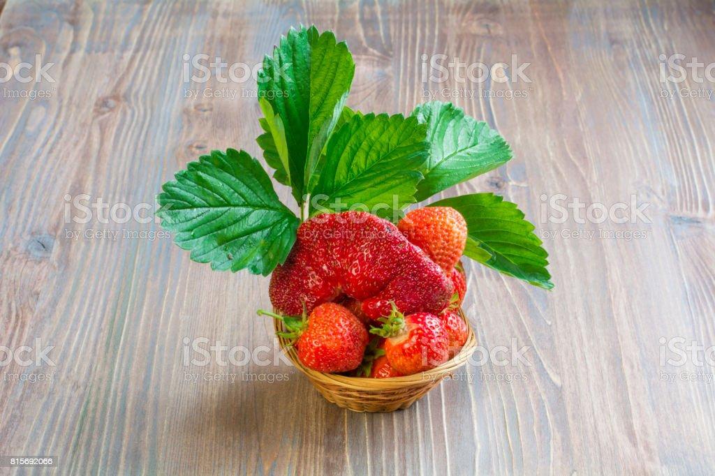 strawberry3 stock photo