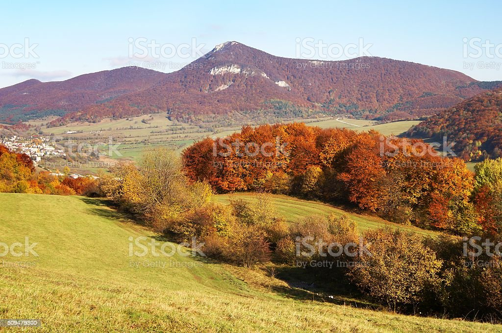 strazovske vrchy - strazov highlands slovakia europe stock photo