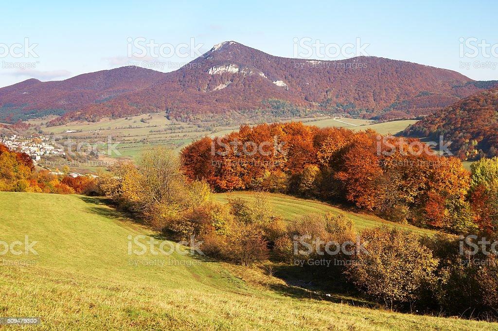 strazovske vrchy - strazov highlands slovakia europe stock photo