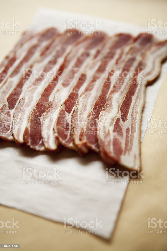 Streaky Bacon stock photo