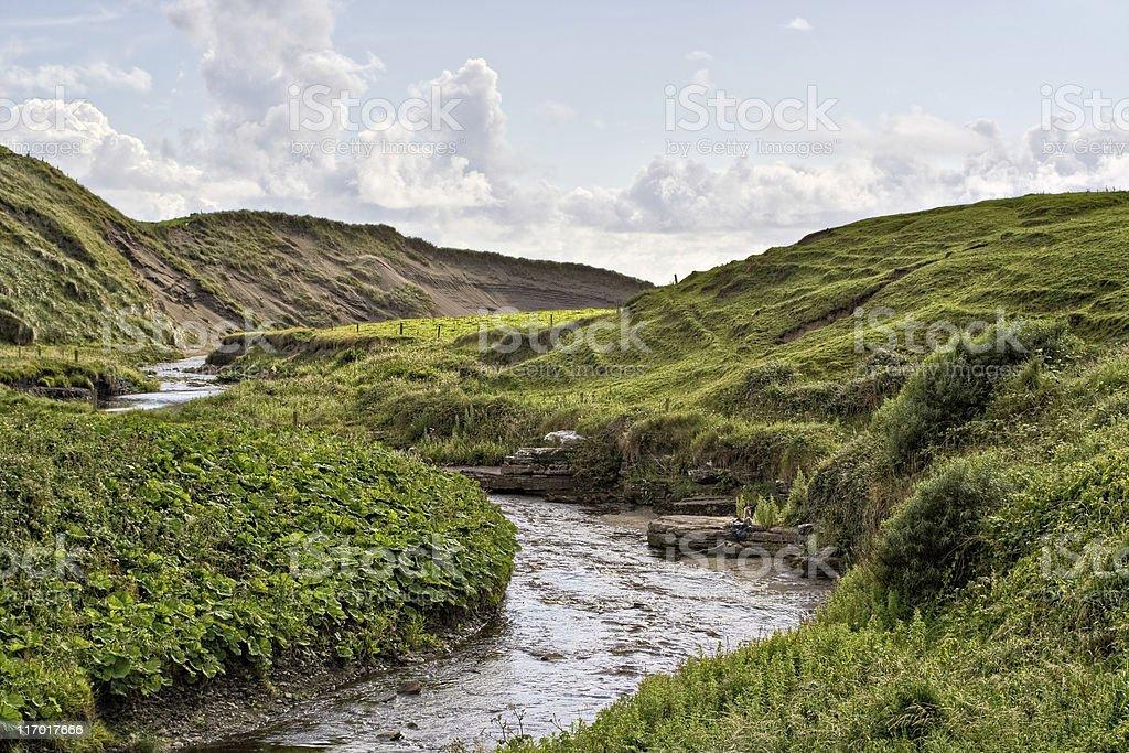 Stream in Ireland royalty-free stock photo