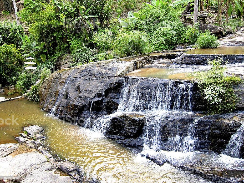 Stream in Resort royalty-free stock photo