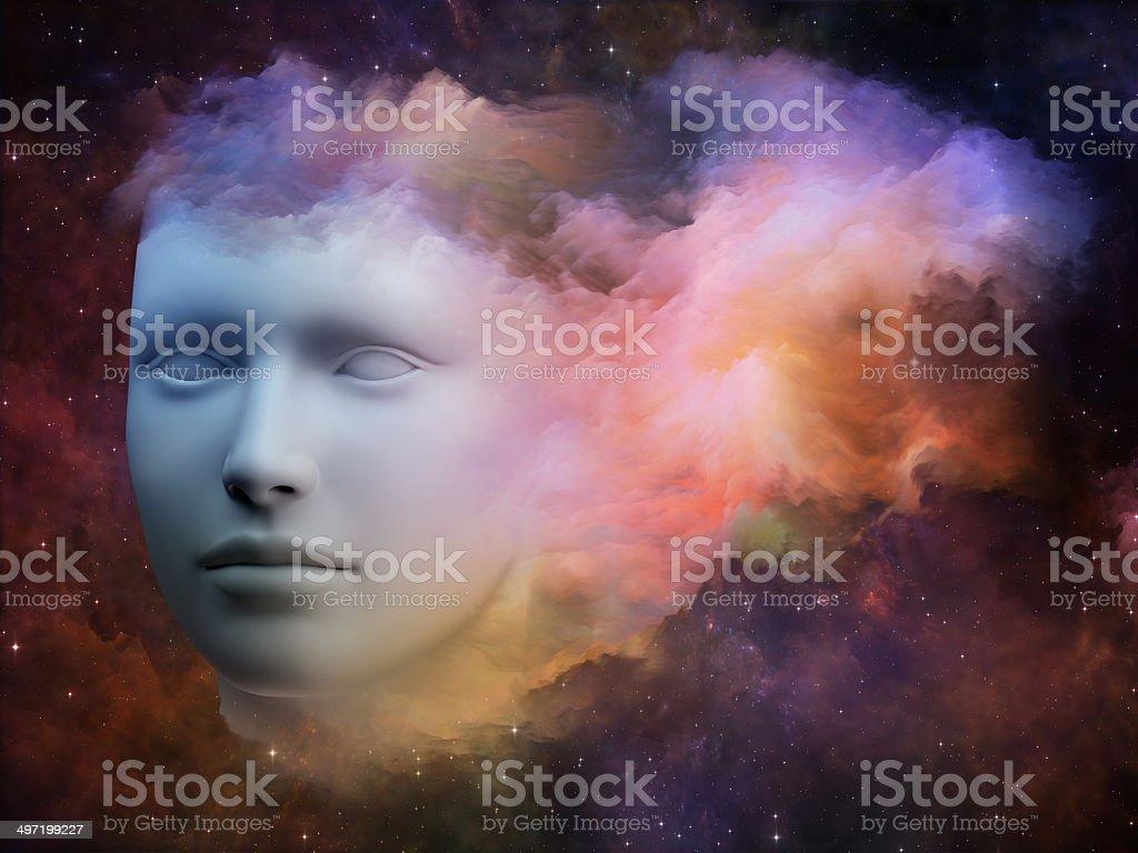 Stream of consciousness royalty-free stock photo