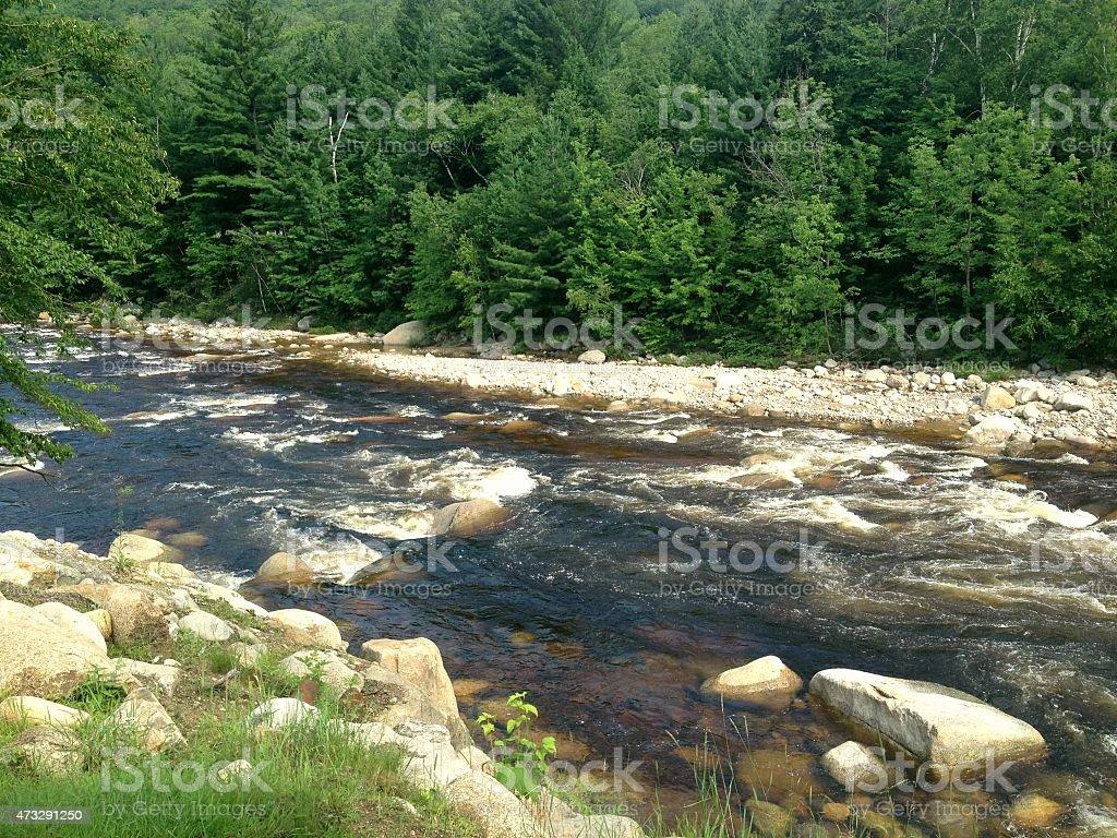 Stream of Water stock photo