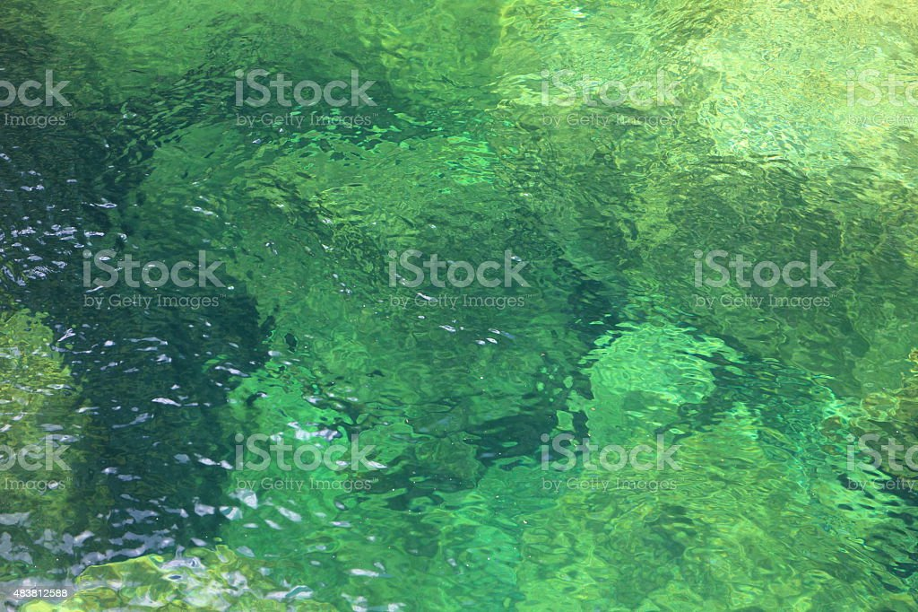 Stream surface background stock photo