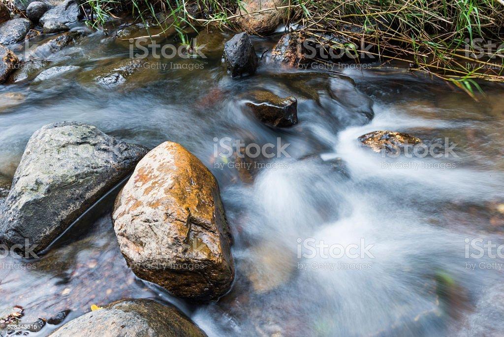 stream water stock photo