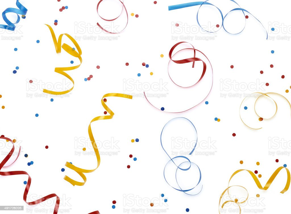 Streamers stock photo