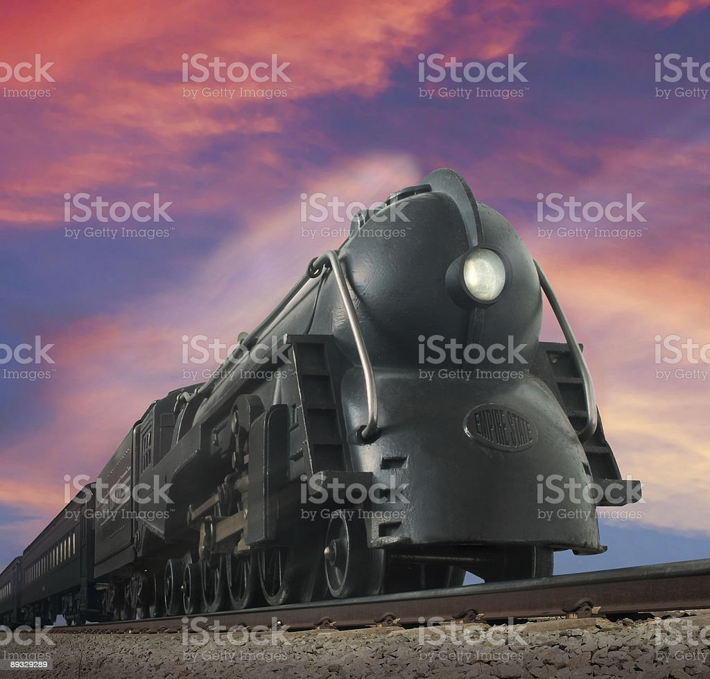 Streamliner Train stock photo
