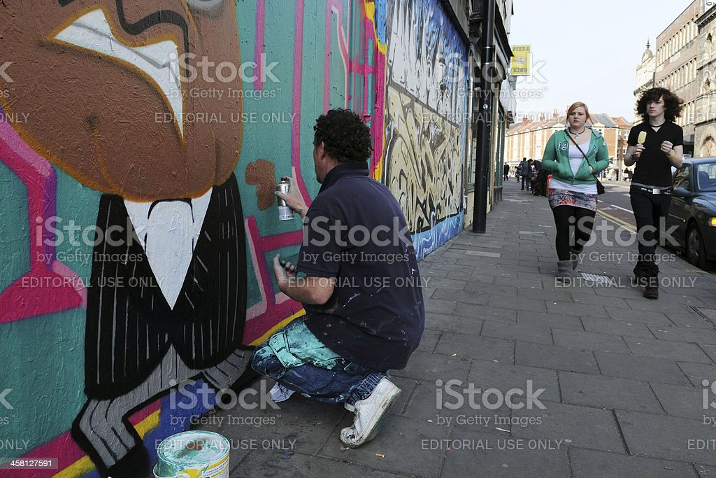 Street Art royalty-free stock photo