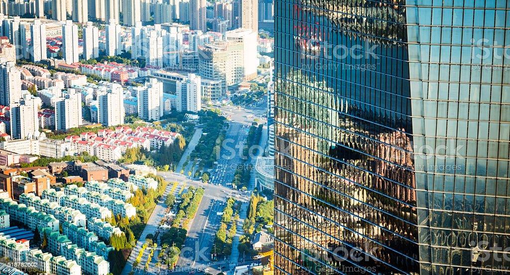 street at shanghai stock photo