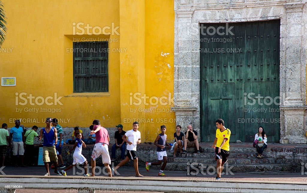 Street Ball stock photo