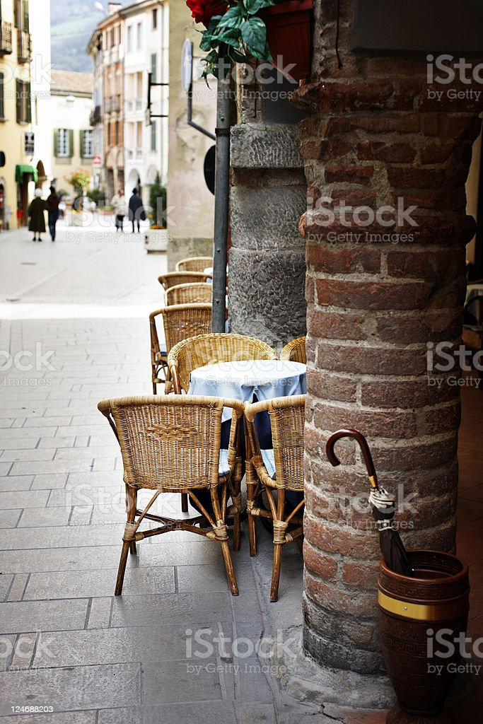 Street Bar. Color Image royalty-free stock photo