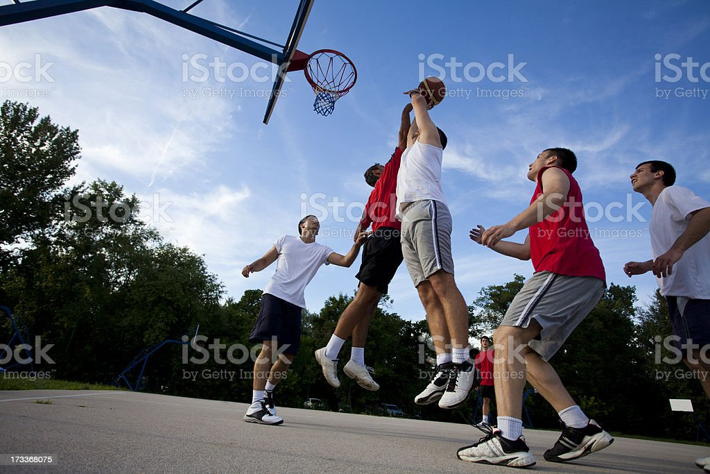 Street basketball royalty-free stock photo