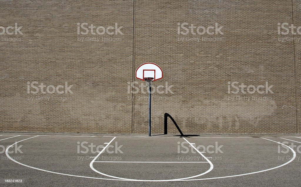 Street Basketball stock photo