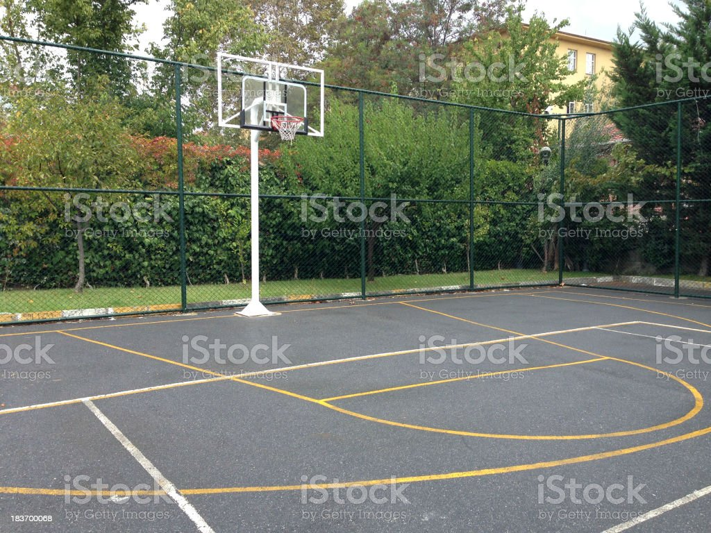 Street Basketball stock photo