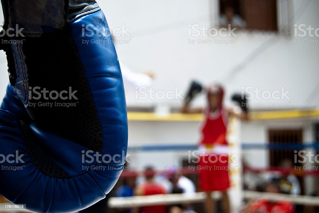 Street Boxing royalty-free stock photo