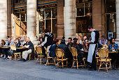 Street cafe in Paris