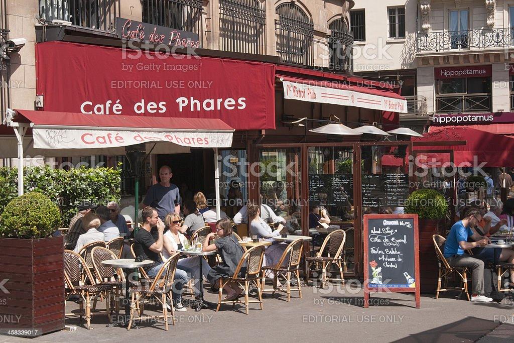 Street Cafe royalty-free stock photo