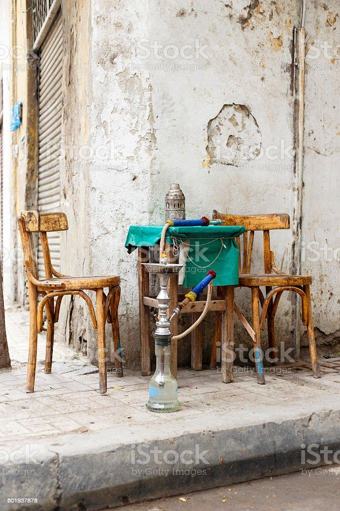 Street Cafe,Egypt. stock photo