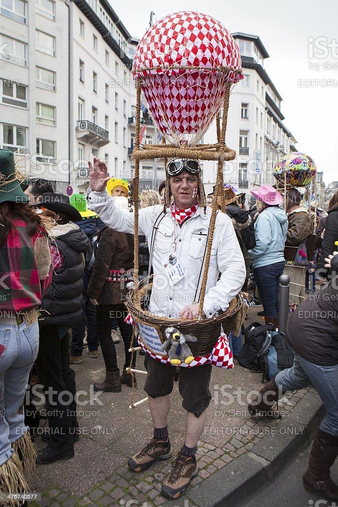 Street carnival in Wiesbaden 2014 stock photo