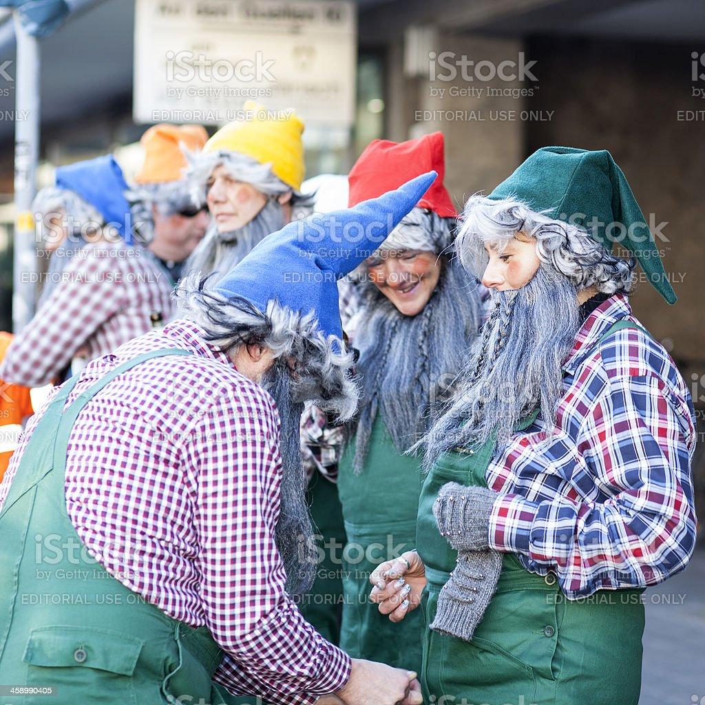 Street carnival in Wiesbaden, Germany stock photo