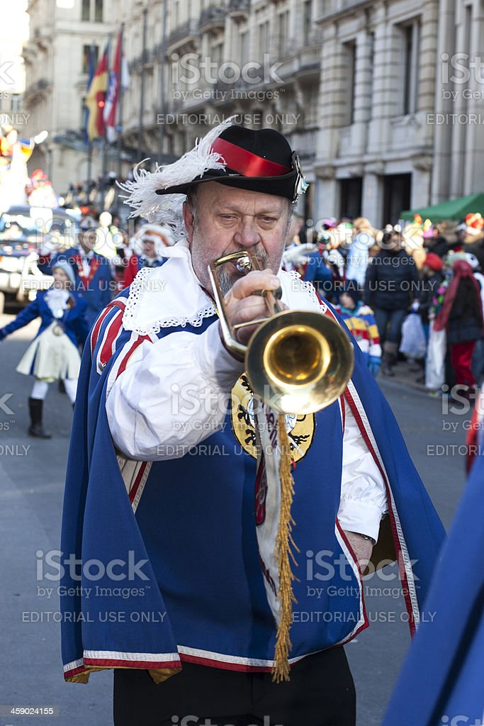 Street carnival in Wiesbaden, Germany royalty-free stock photo