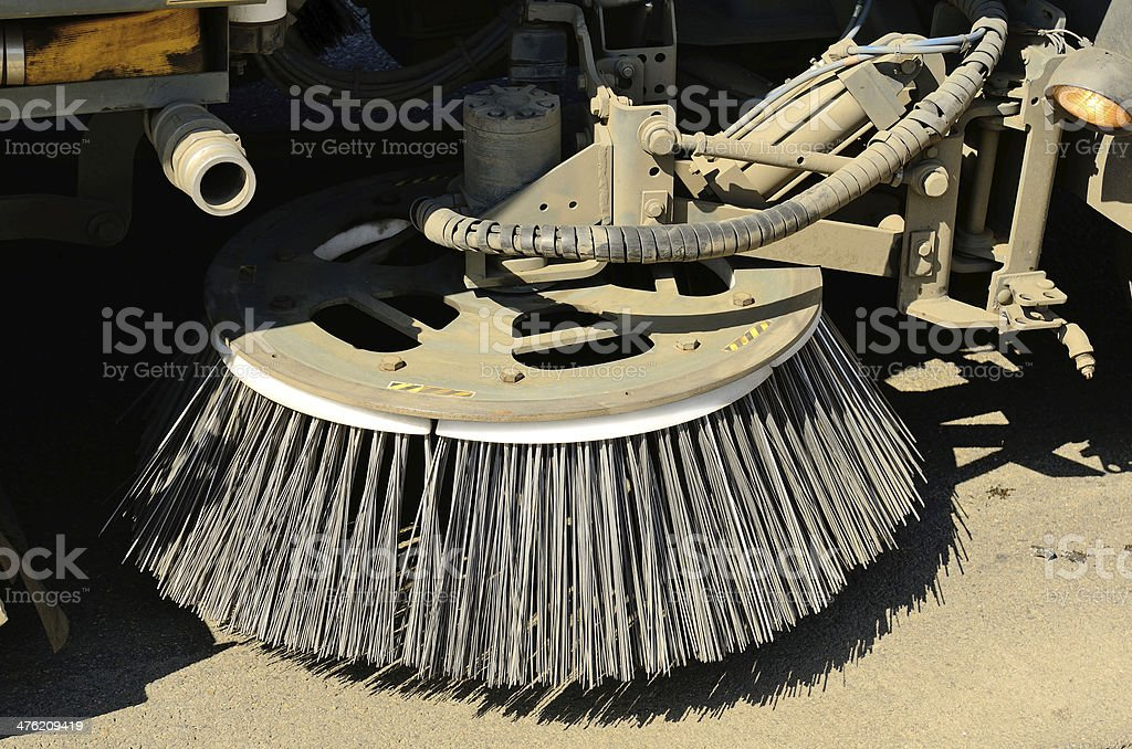 Street Clean stock photo