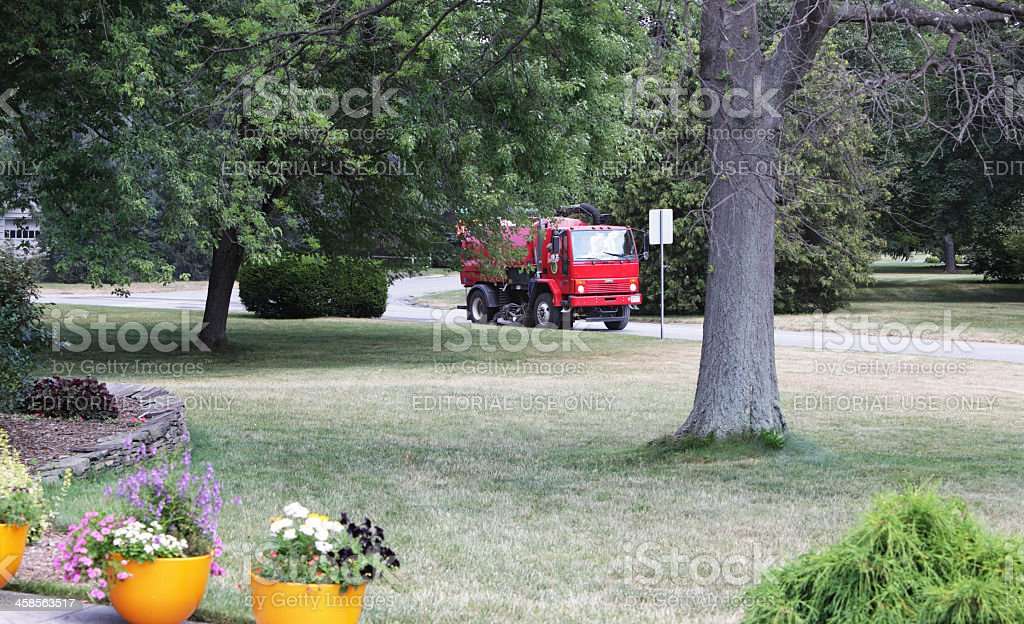 Street Cleaner Vacuum Truck stock photo