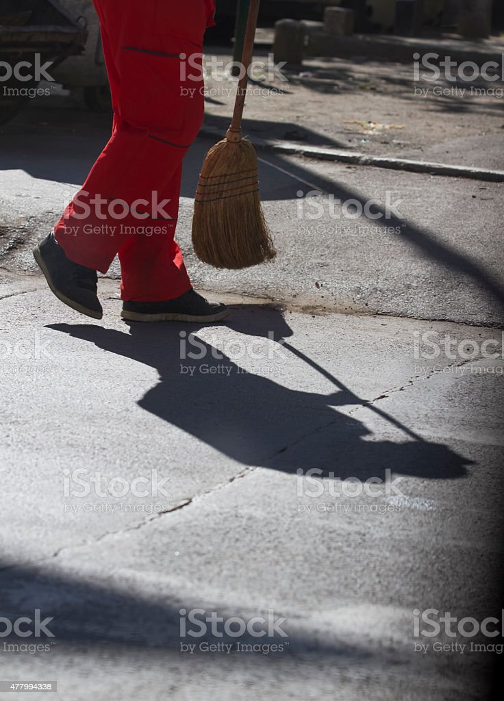 Street Cleaners stock photo