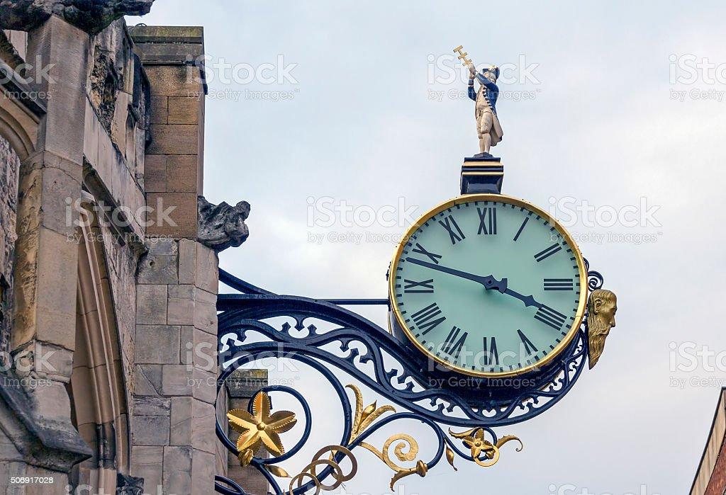 Street Clock stock photo