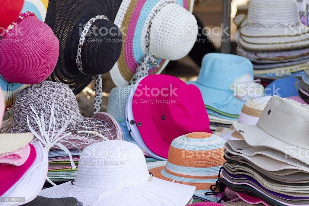 Street clothing vendor royalty-free stock photo