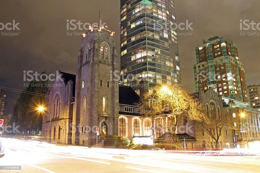 Street Corner Religion royalty-free stock photo